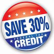 Save 30% Federal Tax Credit