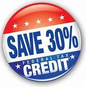 Save 30% Federal Tax Credit
