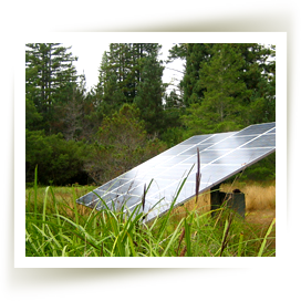Solar Panels installed by Mendocino Solar Service in Mendocino County.