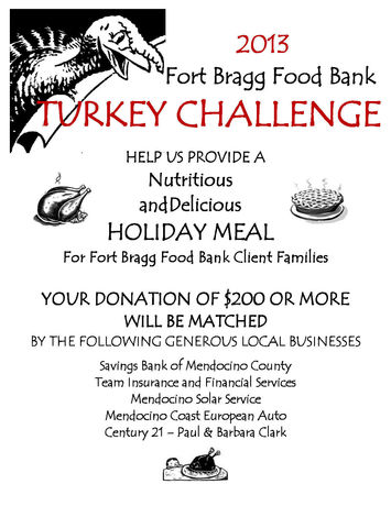 turkey challenge