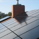 solar panels on a rooftop installed by Mendocino Solar Service, serving Mendocino County, California